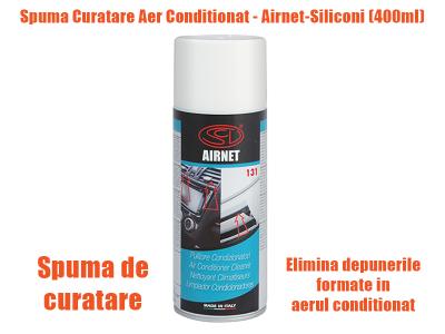 Spuma curatare Airnet-Siliconi (400ml)