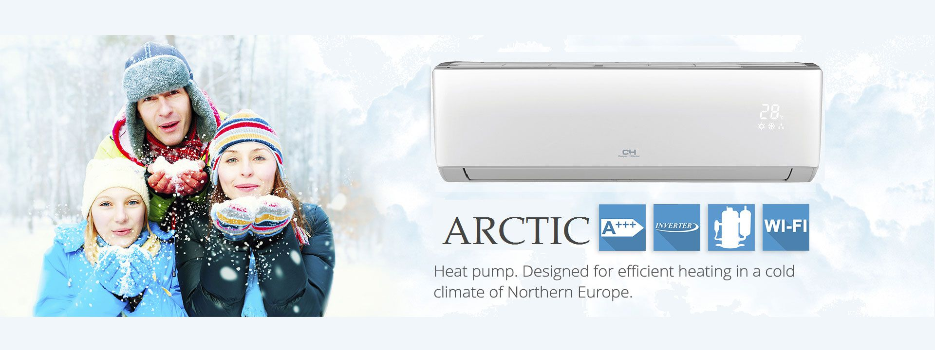 poza modul Cooper&Hunter Arctic