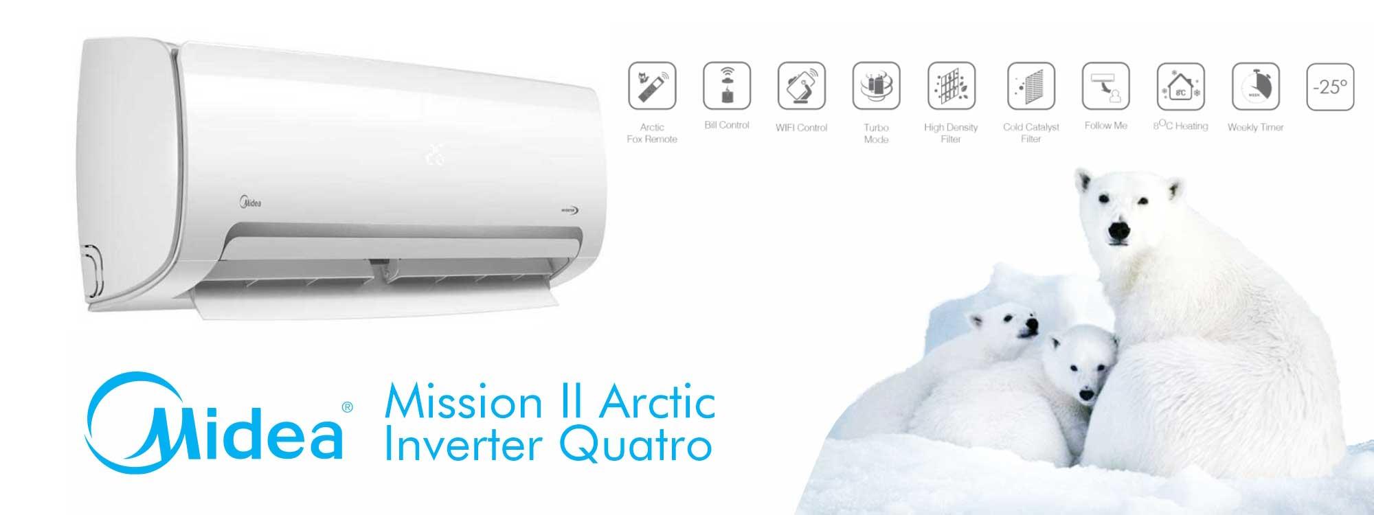 poza modul Midea Mission II Arctic